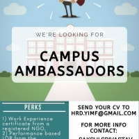 CALL FOR CAMPUS AMBASSADORS BY YIMF